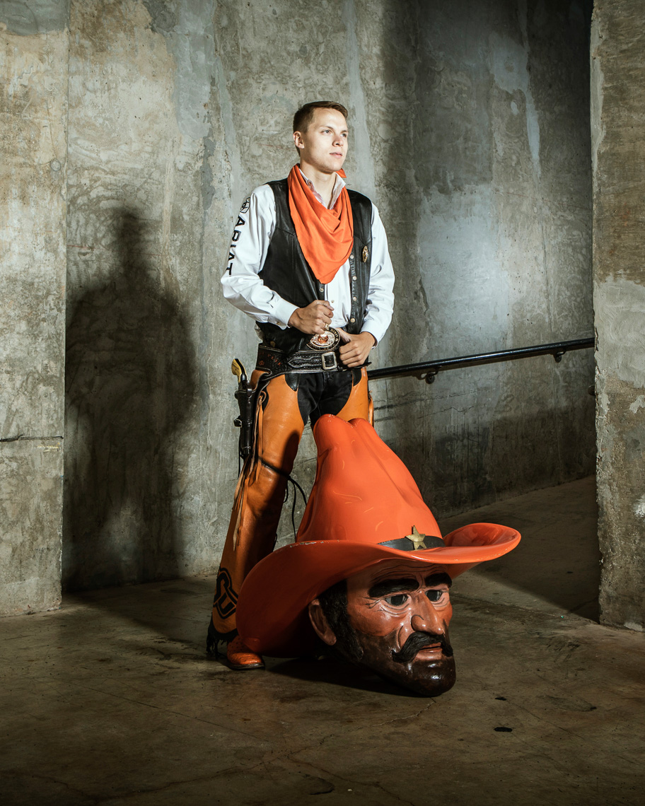 Austin Johnson as Pistol Pete
